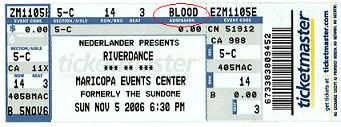 Blood Ticket
